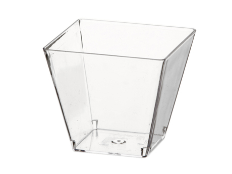 Verrine base carrée