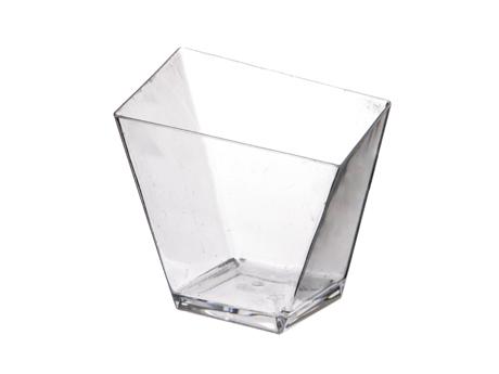 Verrine haute pointue cristal