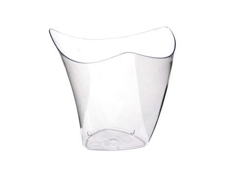 Verrine vague cristal